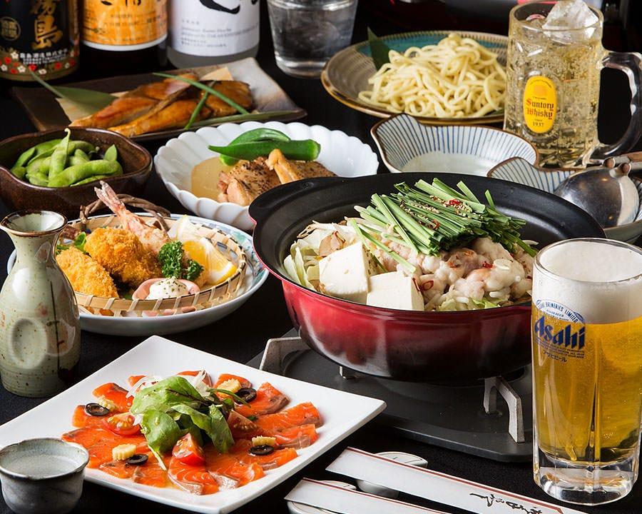 ★忘新年会にオススメ★【九州料理が堪能できる】九州満腹コース♪