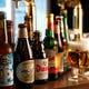 世界のビールも小瓶で用意しております