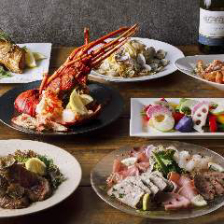 豪華食材を使った質、量ともに大満足の贅沢宴会コース(2時間飲み放題付き!)