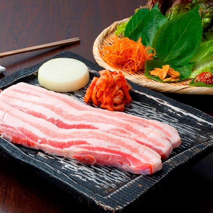韓国料理の定番!☆サムギョプサル☆