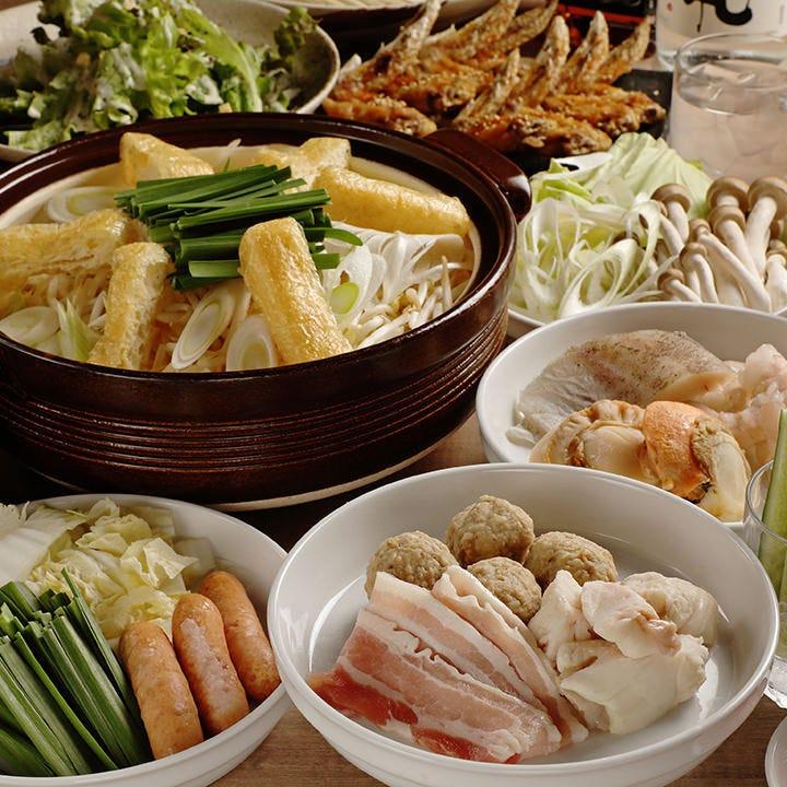 【食べ放題】名物赤から鍋にお肉や野菜などトッピング含む30品以上食べ放題コース