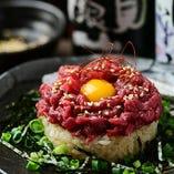 【NEW!】桜肉ユッケちらし寿司
