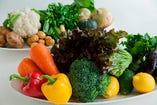 野菜ソムリエらしい珍しい野菜たちが沢山あります!
