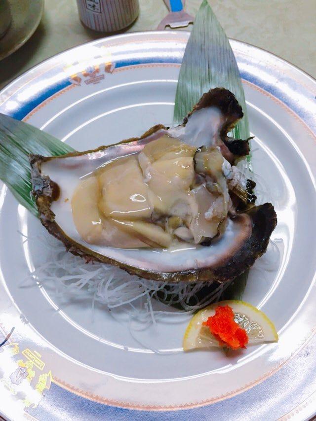 京都の天然の岩牡蠣