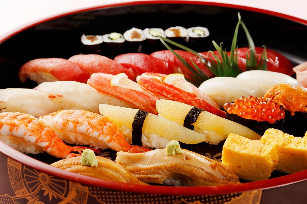 寿司盛合せ2人盛〜 3,600円〜