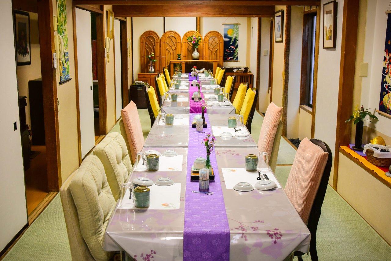 テーブル席・完全個室(壁・扉あり)・11名様~20名様