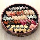 上寿司盛り(五人盛)