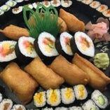 巻き寿司盛り(五人盛)