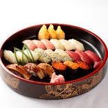 匠寿司(3人盛)
