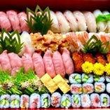 極選寿司(5人盛)
