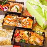 ばらちらし+和食2段【3重弁当】