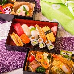 並寿司+和食2段【3重弁当】