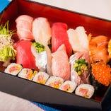 絶品の握り寿司!ぜひご堪能ください。