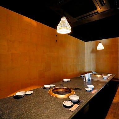 京都肉 炭火焼 ぎんすい  店内の画像