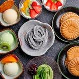 【デザート】 食後の甘い幸せ♪特製杏仁豆腐やアイスもなか