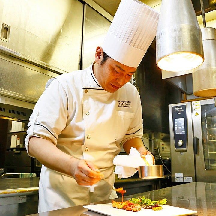 兵庫県内や淡路島など、地元食材使用