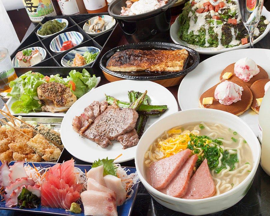 おすすめ料理宴会+全て飲放付!