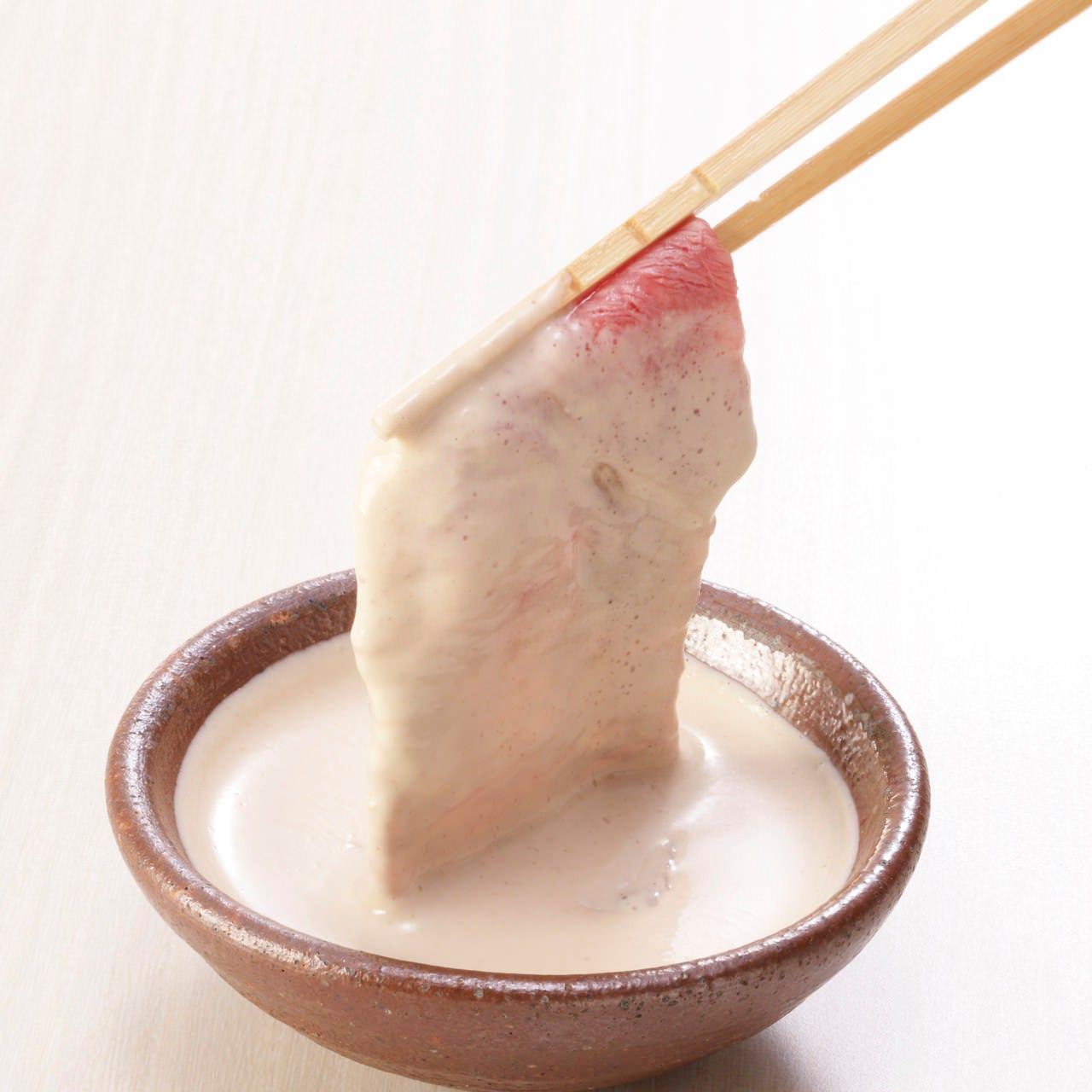 木曽路秘伝の「ごまだれ」!