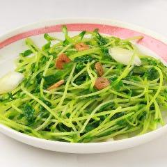 青菜のガーリック塩炒め