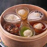 亜麺坊オリジナル 彩りスープ小籠包