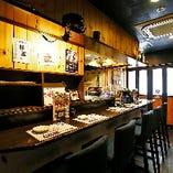 欧風バルのような雰囲気の中、サバ料理をご堪能いただけます♪