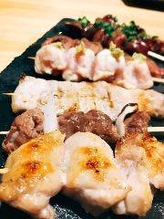 魚と串 つぼみ