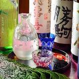 中々お目にかかれないものから隠れた銘酒まで厳選日本酒をご用意