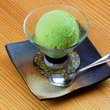 アイスクリーム(抹茶)