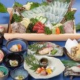 【お料理のみコース】 八潮選りすぐりの海の幸と食通を唸らせる料理の数々を堪能