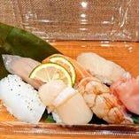 海鮮握り寿司