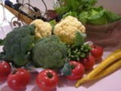 地元野菜のオードブル