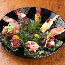 【食べ放題】肉寿司が食べたいならこれ!120分食べ放題《肉寿司5貫盛り合わせお代わりし放題》1780円!!