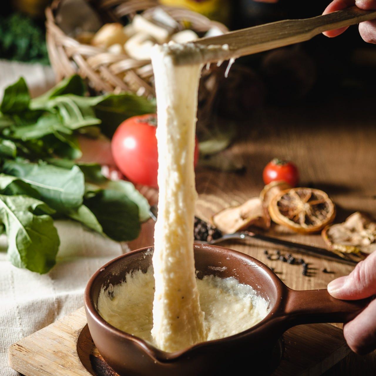 本格的なチーズ料理