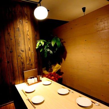 丹波炭火焼き鳥と和牛もつ鍋 煙~けむり~ 本店 店内の画像