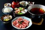 近江牛すき鍋膳