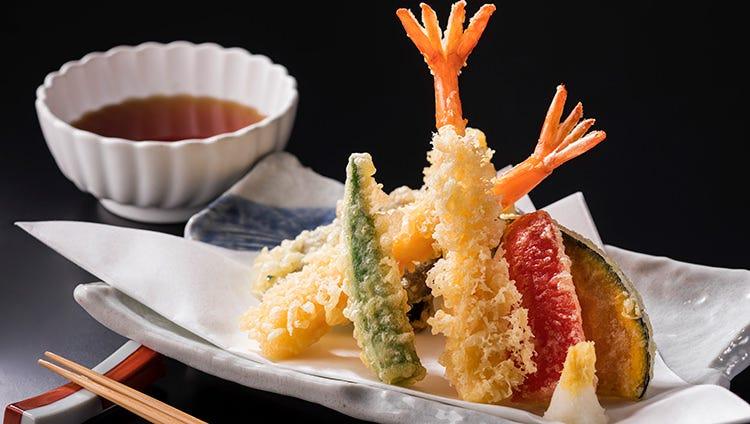揚げたて天ぷら