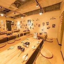 水戸で大人数の個室宴会なら九次郎!