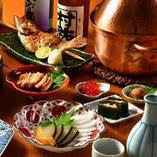 新潟おばんざいも充実。日本酒とのマリアージュを。