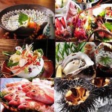 佐渡沖直送の新鮮な鮮魚たち