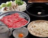 京都牛のすき焼き・しゃぶしゃぶ 季節の鍋は鱧・かに・ふぐなど