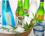 京都の地酒を中心に選りすぐりの 日本酒を取り揃えております。