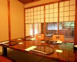 京都の風情溢れるゆったりとした 店内でおくつろぎいただけます