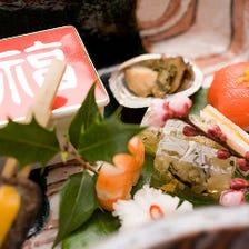 素材と手作りにこだわった京料理