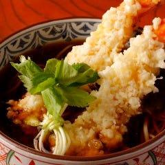 大海老天ぷら蕎麦