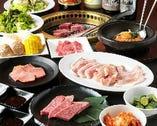 3種類の食べ放題コースをご用意 満足コース71品 2,948円