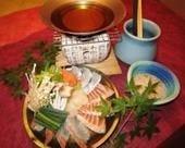 海鮮しゃぶしゃぶ 一人前 1800円(税抜)