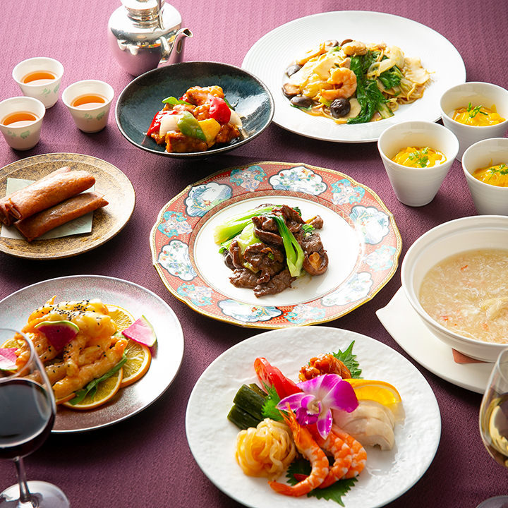 旬の食材を使った季節感あふれる中国料理をご堪能ください。