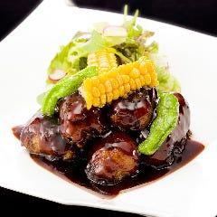 やんばる豚のトロトロ黒酢酢豚