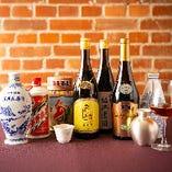 厳選した中国銘酒を多数ご用意。お気軽にお尋ねください。
