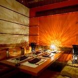 【熊谷×個室】 半個室と完全個室の2タイプのお席を多数ご用意